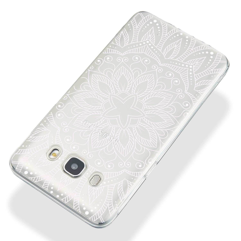h/ülle Silikon Transparent d/ünn Anti-Gelb J510 Huphant kompatibel mit Samsung Galaxy J5 2016 Sto/ßstange Anti-Scratch Silikon Case Samsung Galaxy J5 2016 J510 Handyh/ülle -Pink