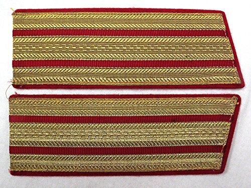 Set of Soviet USSR Russia Army ORIGINAL Parade Officer Shoulder Boards -