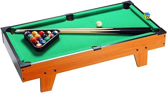 Zgifts Mini Mesa Pool Set-Billar portátil Juego Snooker Mesa ...