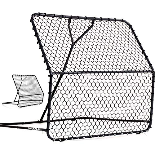 QuickPlay PRO Rebounder - Adjustable Angle Multi-Sport Trainer | Soccer Rebounder or Baseball & Softball Pitch Back | Ideal for Team and Solo Training (5 X 5')