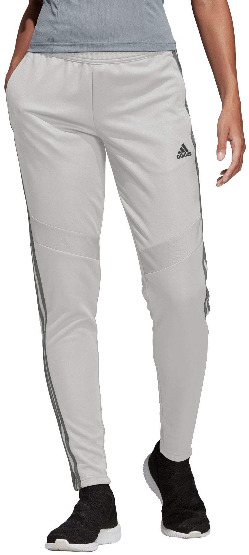 adidas Womens Tiro 19 Training Pants - Raw White/Grey, Small by adidas