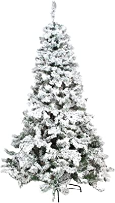 Amazon.com: Vickerman Flocked Alaskan Pine with 349 Tips ...