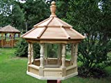 Wooden Spindle Bird Feeder (Large)