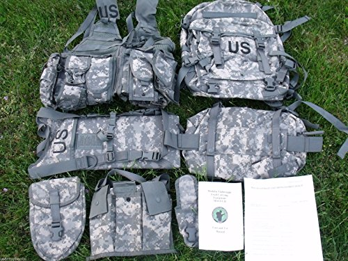 Us Army Military Molle Ii Acu Camouflage Rifleman Set