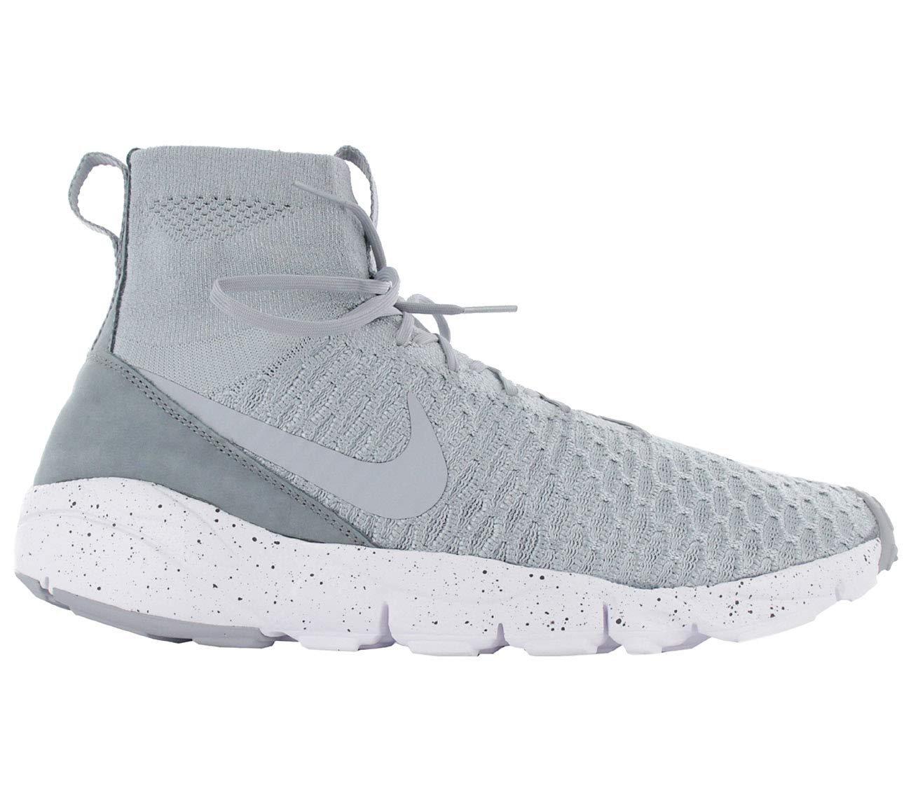 magista chez nike air footscape 10 flyknit formateurs 816560 chaussures chaussures (uk 9 10 footscape ue 44, le loup gris hyper - orange - 005) cdd9a1