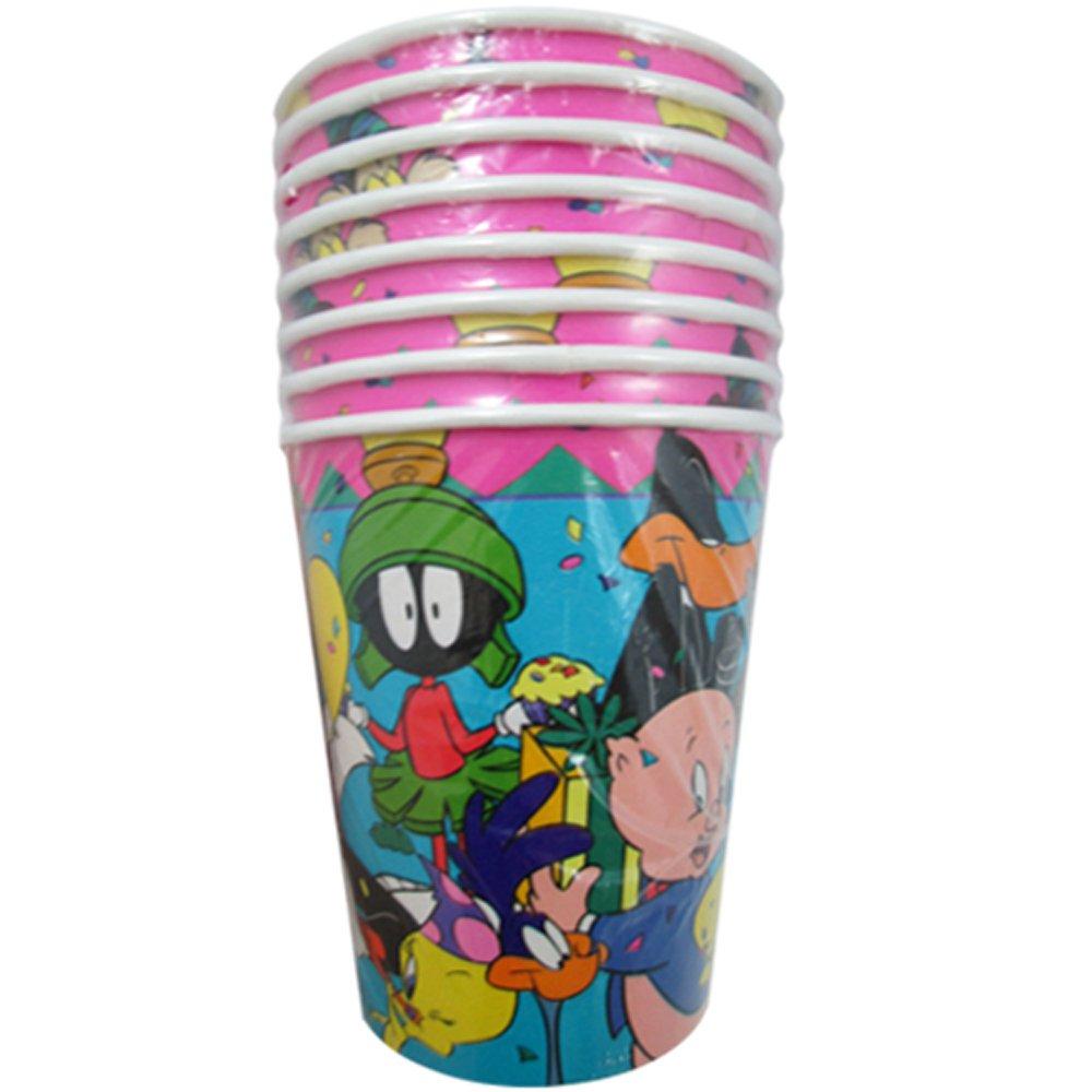 Looney Tunes Vintage 9oz Paper Cups (8ct)