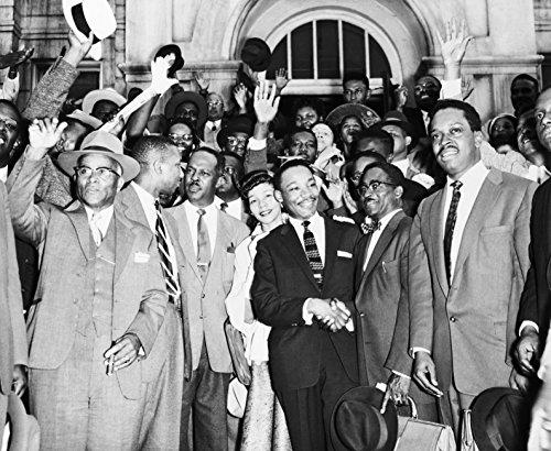 End of Montgomery Bus Boycott Civil Rights Movement B&W Photo Art Print