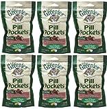 Greenies Salmon Cat Pill Pockets 9.6 oz (6x1.6 oz bags)