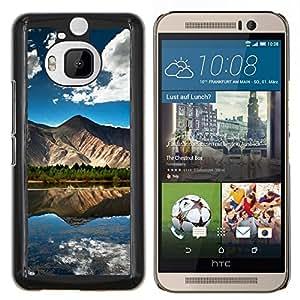 EJOOY---Cubierta de la caja de protección para la piel dura ** HTC One M9Plus M9+ M9 Plus ** --Puesta de sol Mar Beautiful Nature 22