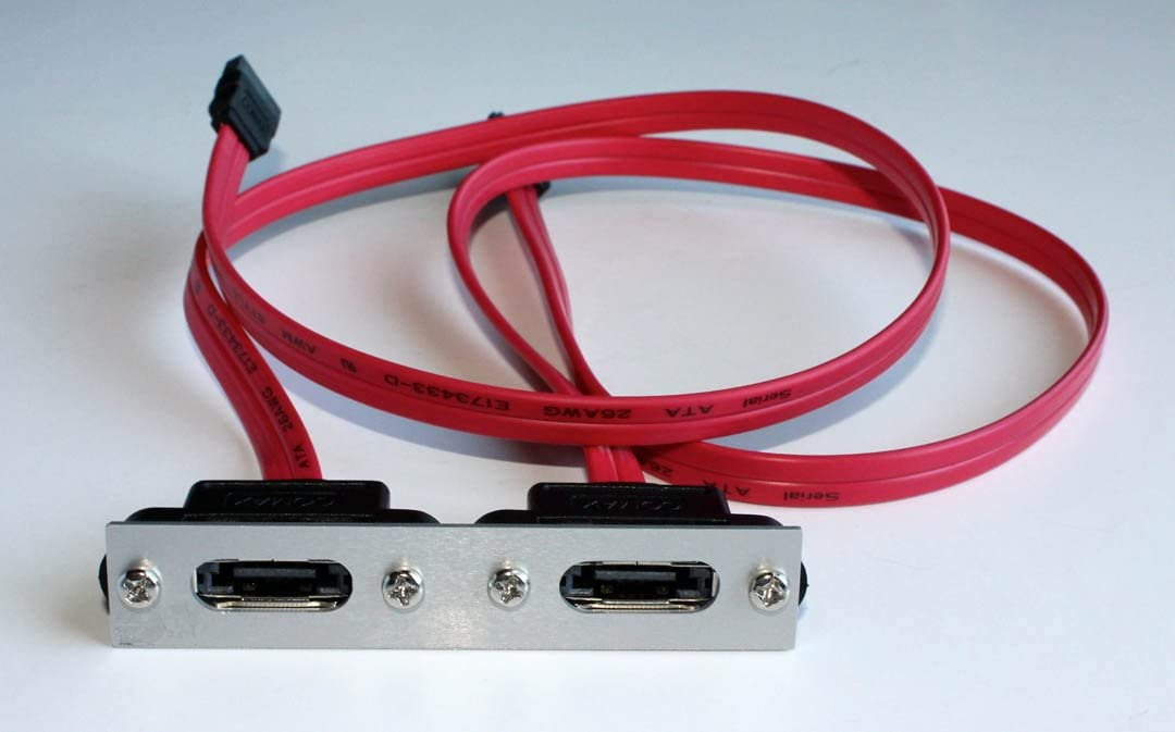 Oodelay 18 SATA Cable with Centronics SCSI 1 Enclosure Adapter Kit Bracket