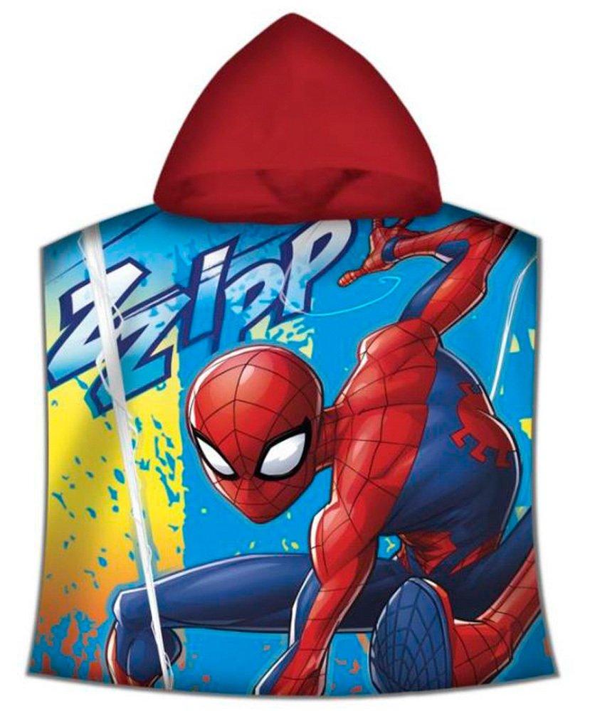 Disney Spiderman Poncho, mv15362, 120x 60cm KIDS EUROSWAN