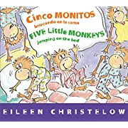Cinco monitos brincando en la cama/Five Little Monkeys Jumping on the Bed (A Five Little Monkeys Story) (Spanish and English Edition)
