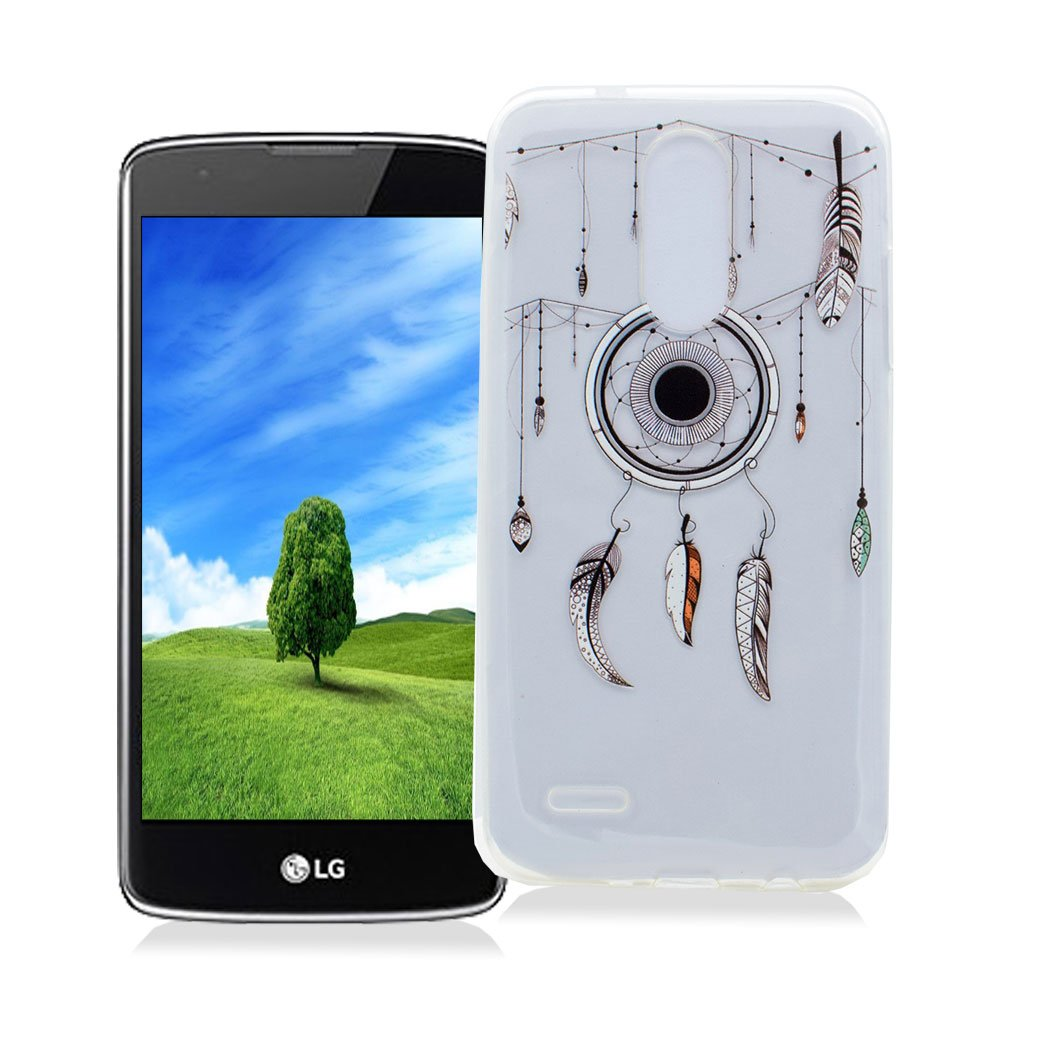 Funda LG K8 2017 AllDo Carcasa de Silicona TPU Funda Transparente Claro Caja Flexible Suave Carcasa Delgada Lisa Funda Ultra Ligero Smooth Thin Case ...
