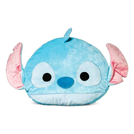 Amazon.com: Jay Franco Disney Tsum Tsum Stitch Face Pillow ...