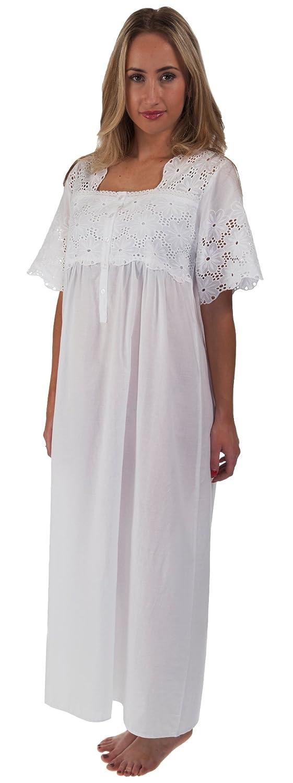 Inconnu The 1 for U 100/% Cotton Manche Courte Chemise de Nuit Dames 6 Tailles Elizabeth