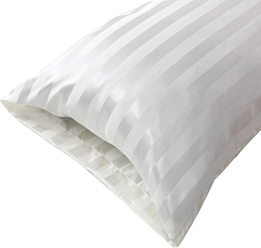 Amazon Com Treely Silky Satin Body Pillow Cover 20 X 54 Inch