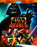 The epic battle to defeat the evil Empire continues in STAR WARS REBELS: COMPLETE SEASON TWO! As Ezra continues his journey to become a Jedi under Kanan's guidance, the crew of the Ghost bands together with a secret rebel cell and ex soldiers...