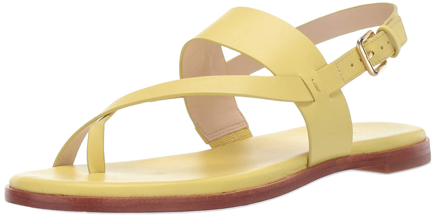 Yellow Cole Haan Womens G.os Anica Thong Sandal Flat Sandal