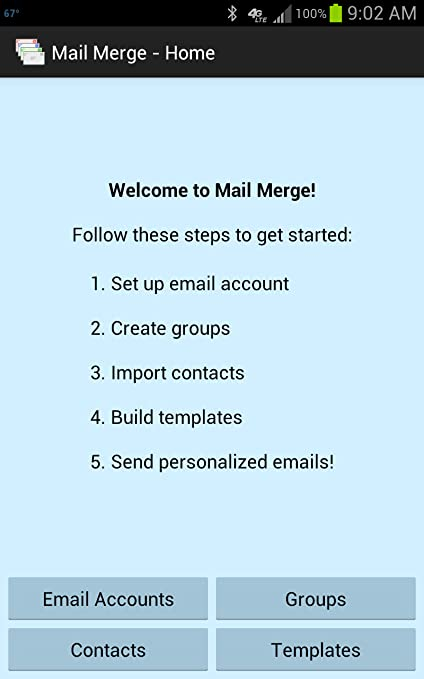 Amazon.com: Mail Merge: Appstore for Android