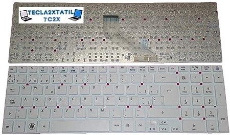 Teclado para PORTATIL Packard Bell Easynote TS44HR Serie EN ...