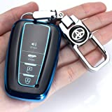 for Toyota Key Fob Cover Premium Soft TPU 360 Degree Protection Key Case Compatible with 2018 2019 2020 Toyota Camry…