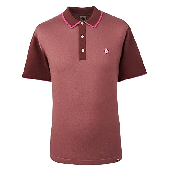 f6b72a2be Pretty Green Men s Contrast Panel Knitted Polo