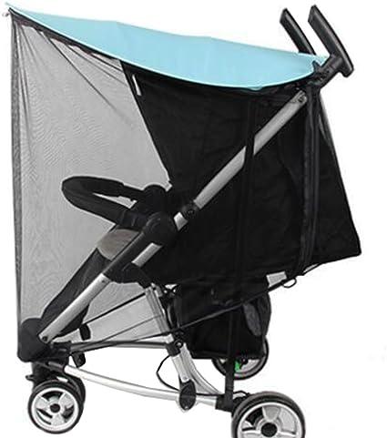 Soft Insect Netting Anti-UV Sunshade pour housse de poussette bébé