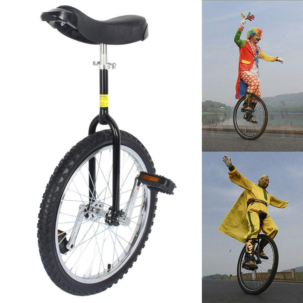 Shyneer 20'' Wheel Unicycle Wheel Cycling Outdoor Sports Fitness Bicycles Balance Exercise