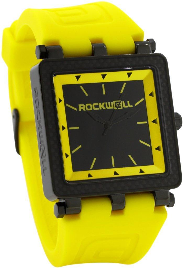 Rockwell Time CF Lite Watch, Yellow/Black