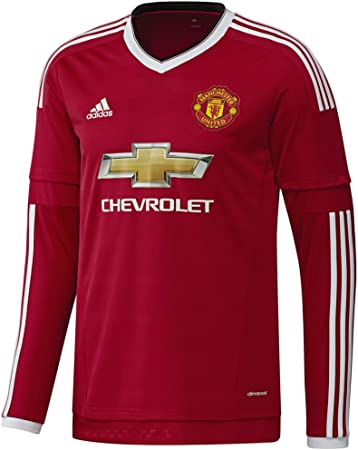 adidas 2015 – 16 casa Manchester United Wayne Rooney Jersey ...