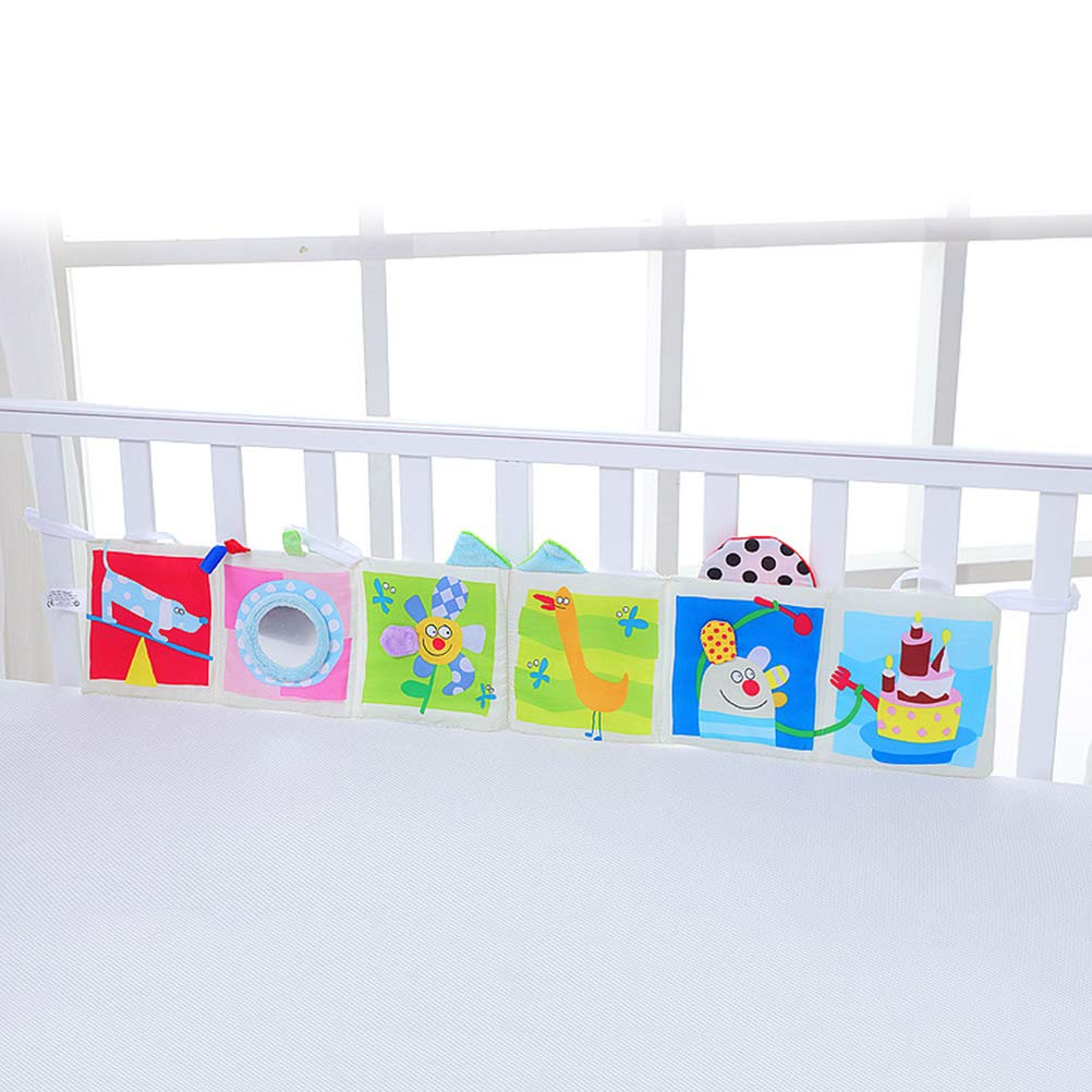 YeahiBaby Baby paracolpi My First Soft Book Baby Dog Cloth Book Learning Toys
