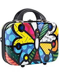 Heys America Britto Butterfly Beauty Case (Multi -Britto Butterfly)