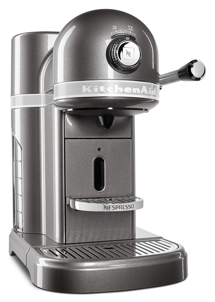 KitchenAid KES0503MS Nespresso, Medallion Silver by KitchenAid