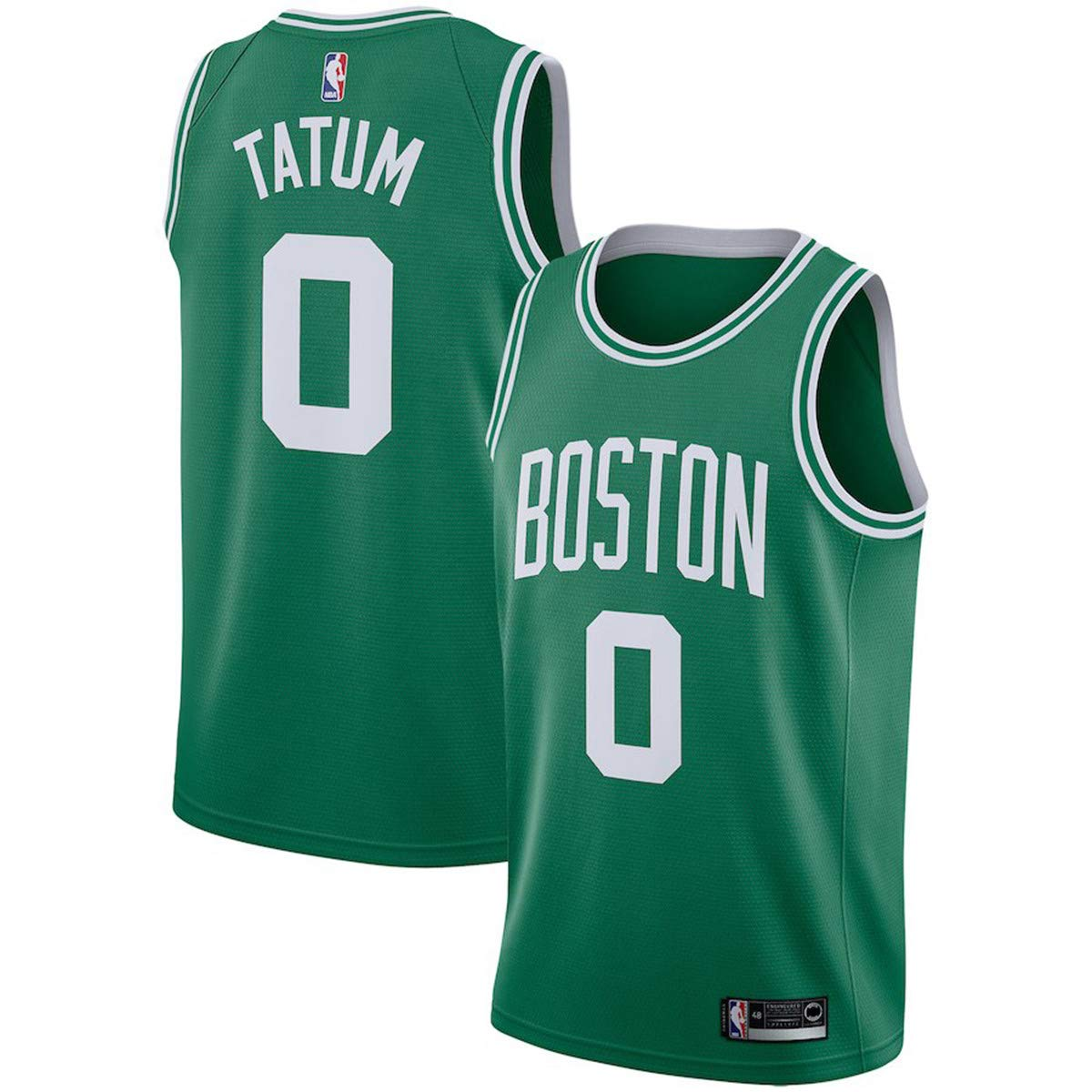 e94dbd033223b Majestic Athletic Men's Boston Celtics Jayson Tatum Swingman Jersey-Green
