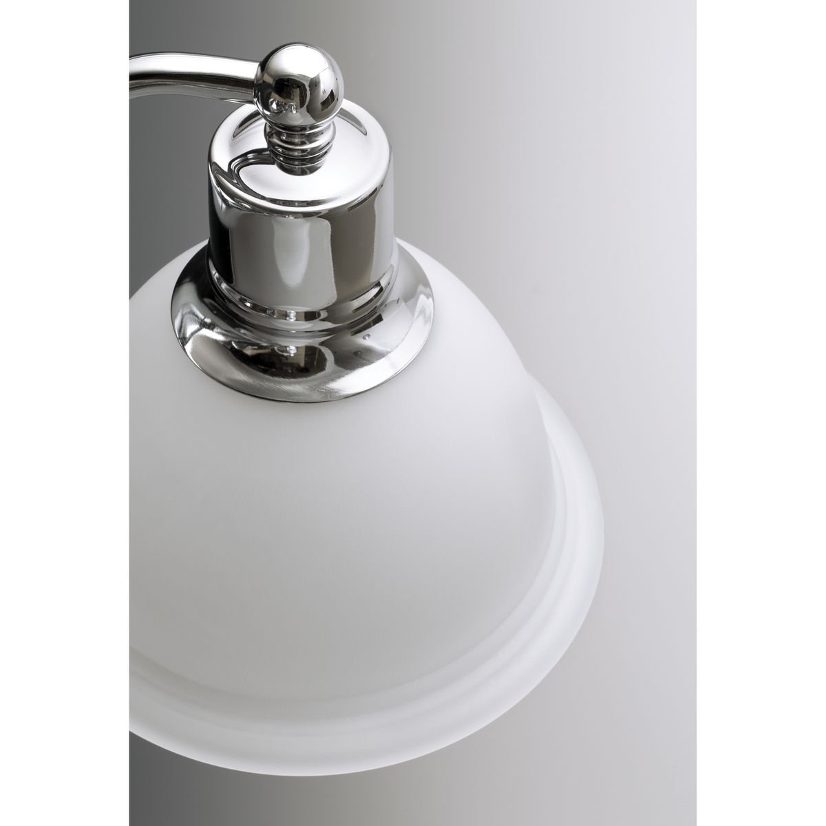 Brushed Nickel Progress Lighting P3312-09 2-Light Close-To-Ceiling Fixture with White Etched Glass