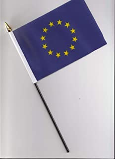 Portugal Medium Hand Held Flag 23cm x 15cm
