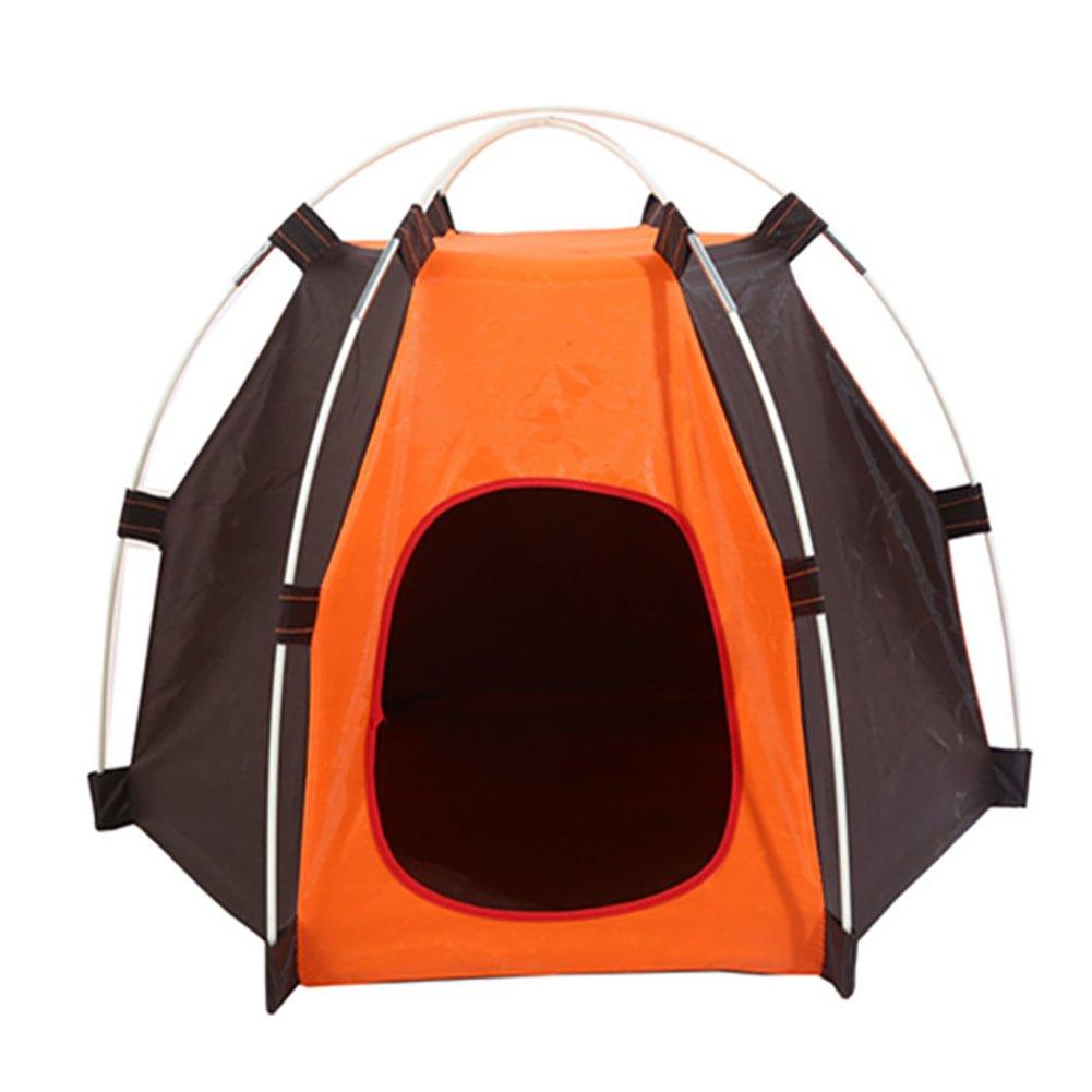 Dontdo Tienda de campaña para mascotas, lavable, resistente, de tela Oxford, impermeable, plegable: Amazon.es: Productos para mascotas