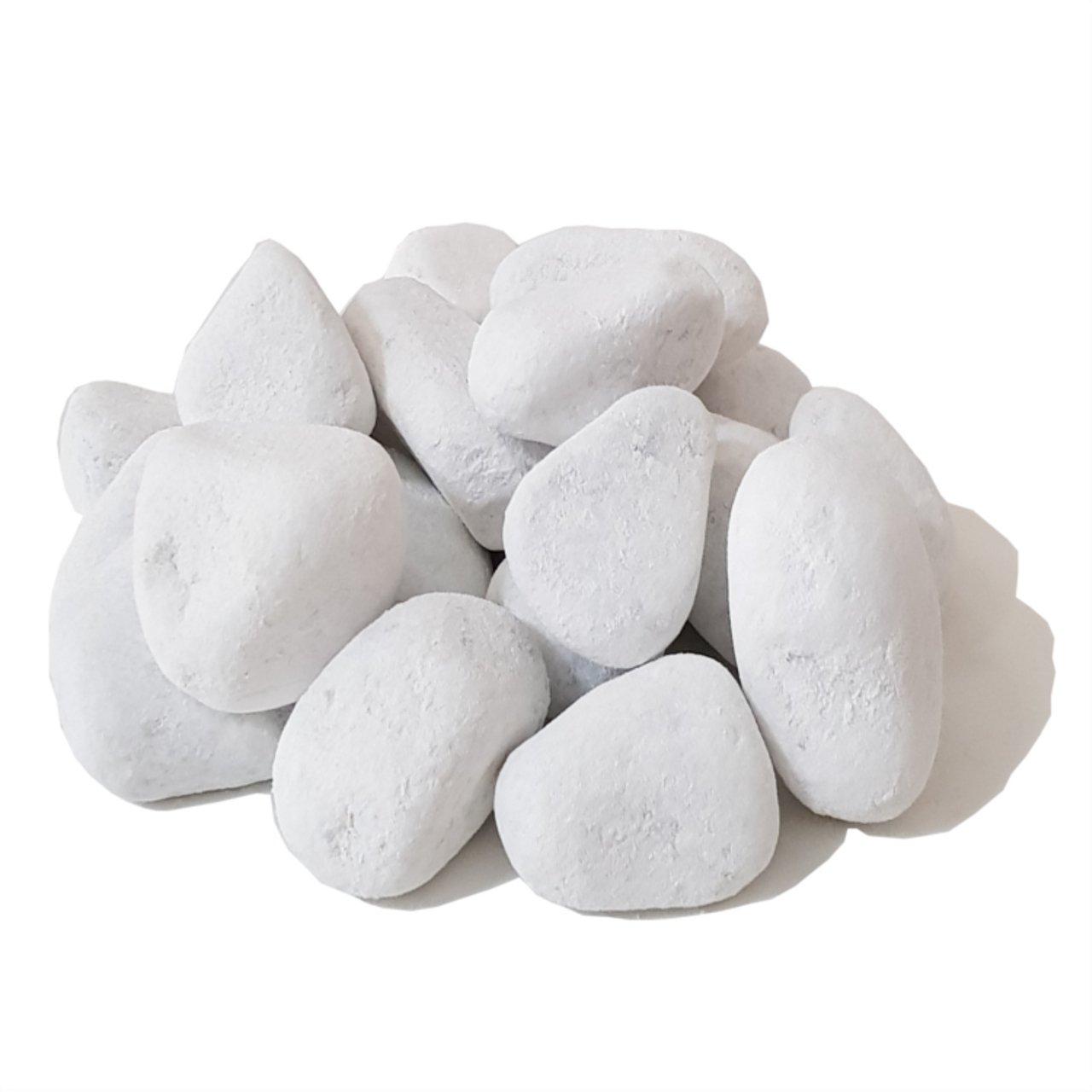 Piedras blancas decorativas para etanol y chimeneas de gel y má s (20) Georgio Bonetti