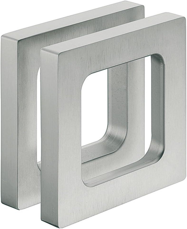 Diseño – Tirador puerta de cristal aspecto de acero para pegar ...