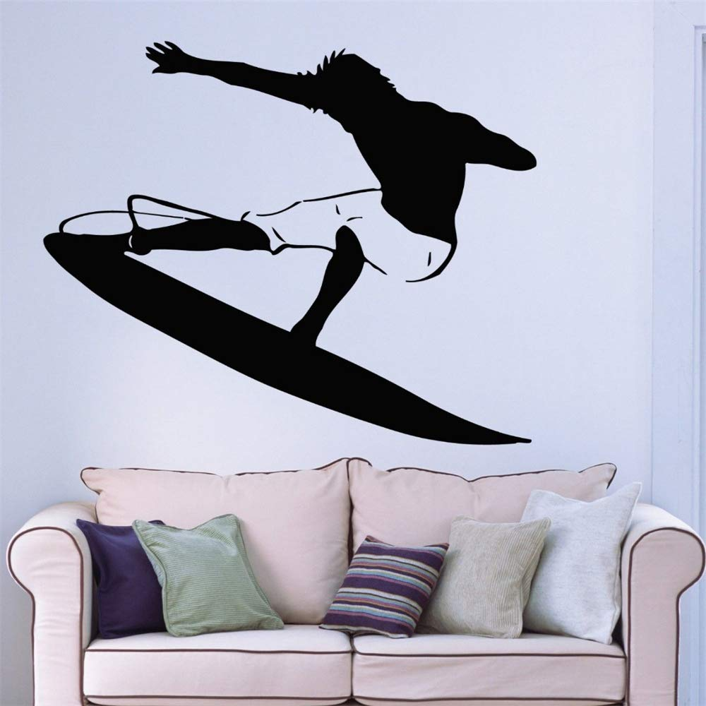 Ajcwhml DIY Wallpaper Surf Sticker Decal Surf Calcomanías Vinilo ...