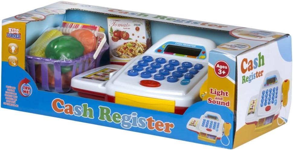 Color Baby- Caja registradora luz, Sonido y Accesorios, 37 x 16 x ...