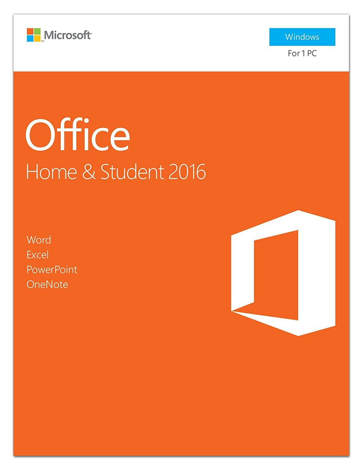 Office 2016 Home & Student (Win) USA Retail