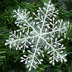 PNBB 3 Packs 5.9 Inch Snowflakes Christmas Ornaments Winter Wedding Favor Birthday Party Theme Decoration