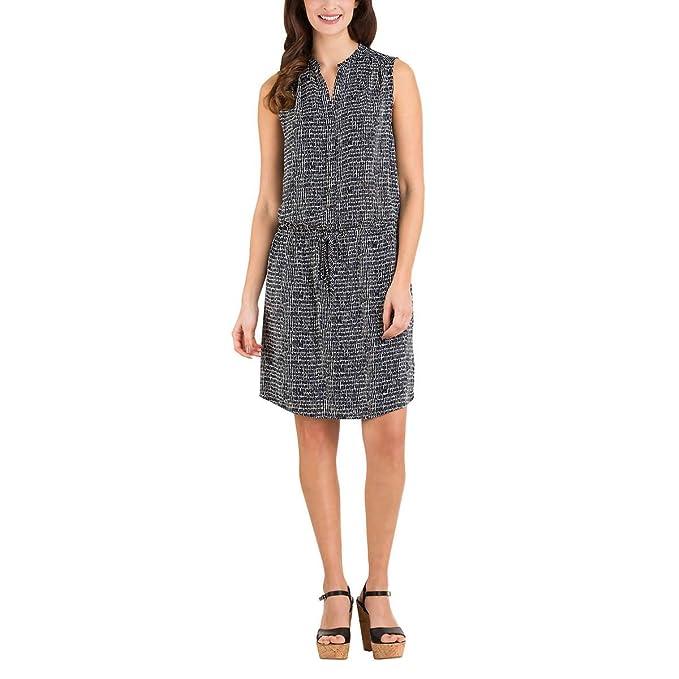 25b9e0f4338578 Hilary Radley Womens Sleeveless Tunic Dress at Amazon Women s ...