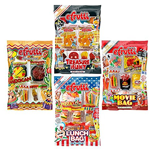 eFrutti Gummi Candy Variety Party (4 Pack) -