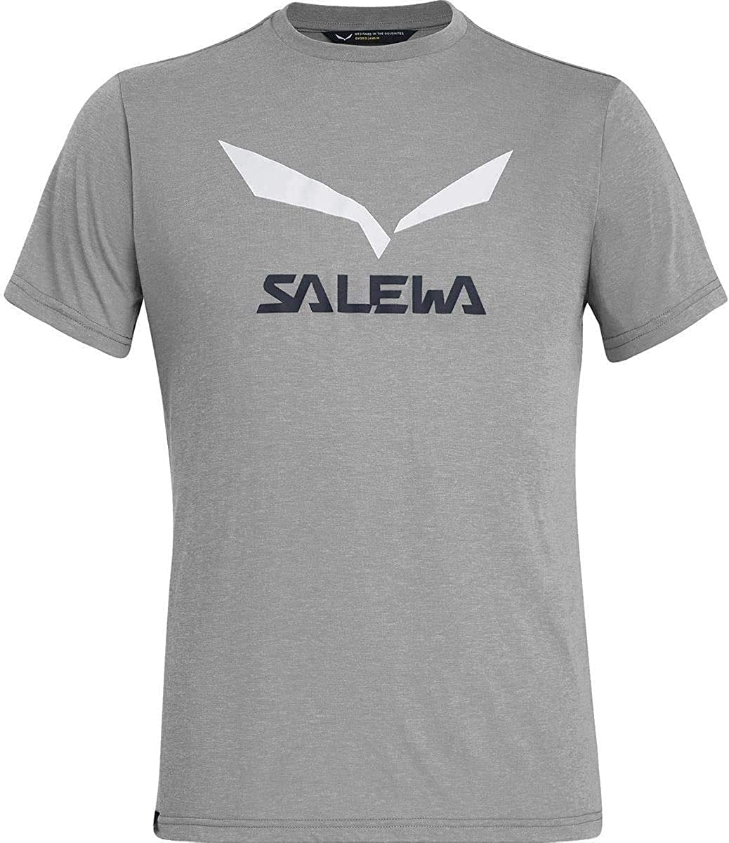 Salewa Herren Solidlogo Dry M S//S Tee Blusen /& T-Shirts