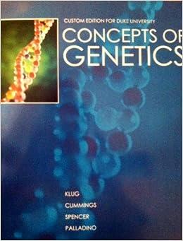concepts of genetics 9th edition pdf
