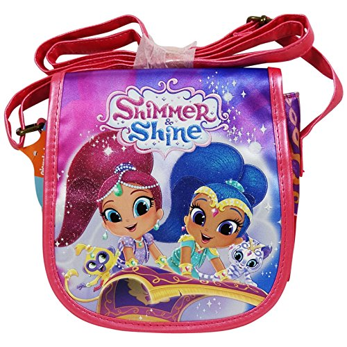 Shimmer and Shine Sparkle Borsa Piccola per Bambina a Tracolla Muffin Idea Regalo