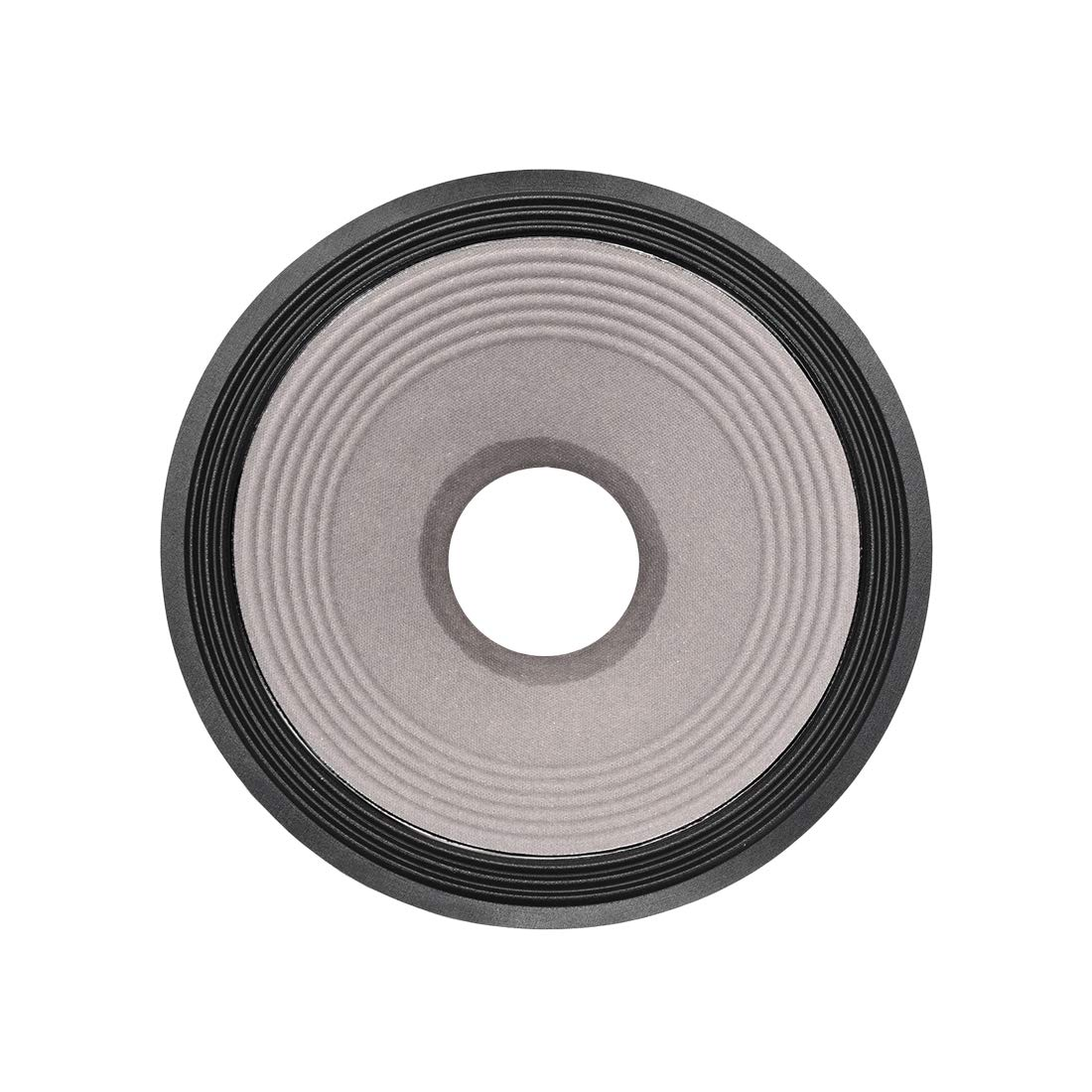 uxcell 12'' Paper Speaker Cone Subwoofer Drum Dot Paper 3'' Coil Diameter 2'' Depth with 3 Cloth Surround