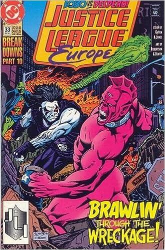 Justice League Europe 33 1st Appearance Sonic The Hedgehog Keith Giffen Gerard Jones Amazon Com Books